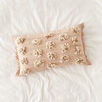 Edra Tufted Lumbar Pillow | Urban Outfitters