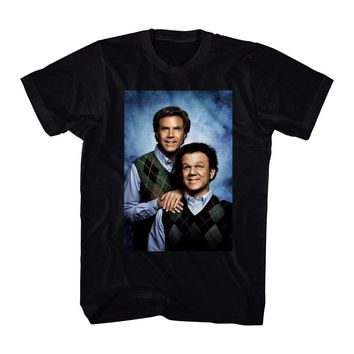 Step Brothers Poster Men's Black T-shirt