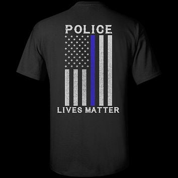 Police Lives Matter Thin Blue Line