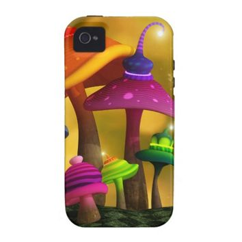 Whimsical Mushrooms iPhone 4/4S Vibe Case