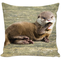 Otter pillow