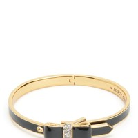 Enamel Bow Hinge Bangle by Juicy Couture