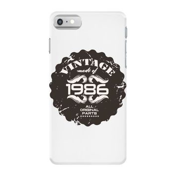vintage made of 1986 all original parts iPhone 7 Case