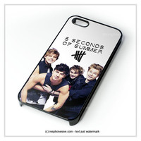 Ashton Hood Luke Hemmings Michael Clifford 5Sos iPhone 4 4S 5 5S 5C 6 6 Plus , iPod 4 5  , Samsung Galaxy S3 S4 S5 Note 3 Note 4 , and HTC One X M7 M8 Case