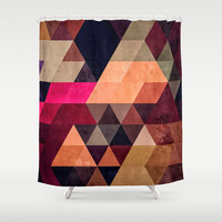 pyt Shower Curtain by Spires