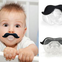 THE GENTLEMAN STACHIFIER - Moustache Pacifier