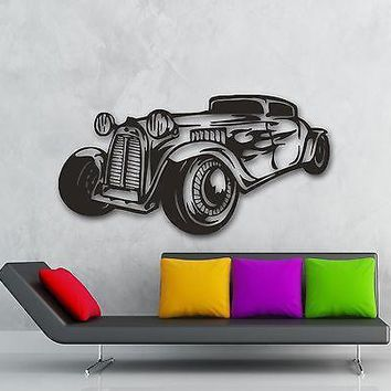 Wall Stickers Vinyl Decal Car Retro Vintage Garage Cool Decor Unique Gift (ig594)