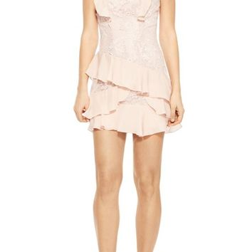 Parker Gabriel Lace Ruffle Dress | Nordstrom