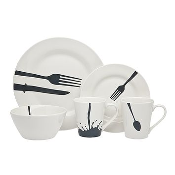 16PC ACME DINER DINNERWARE