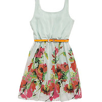 GB Girls 7-16 Border-Print Tank Dress | Dillards.com