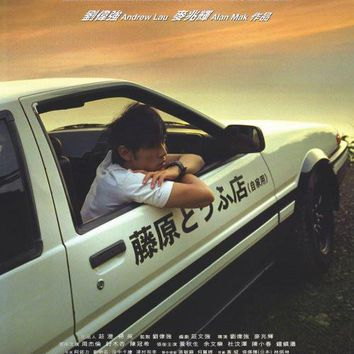 Initial D 27x40 Movie Poster (1998)
