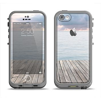 The Paradise Dock Apple iPhone 5c LifeProof Fre Case Skin Set