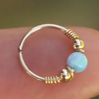 Nose Ring, Cartilage Earings, Helix earring, Cartilage Hoop Earring, Valentine's Day Gift, Helix piercing, Nose Ring Hoop, Septum Jewelry