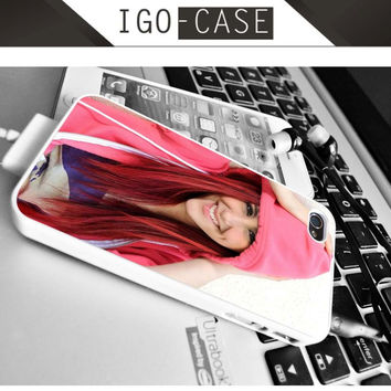 Ariana Grande Pink for Apple iPhone & iPod, Samsung Galaxy, HTC One,LG Nexus smartphones