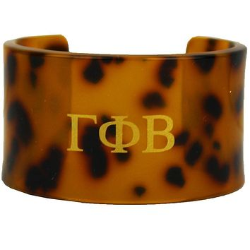 Gamma Phi Beta Tortoise Cuff Bracelet by Fornash - FINAL SALE