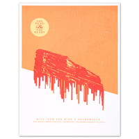 THATH Limited Edition Red Rocks Poster | Shop the The Head and the Heart Official Store