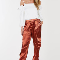 Ice Queen Satin Joggers