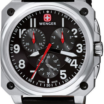 Wenger Men's Swiss Made AeroGraph Cockpit Chronograph 77015