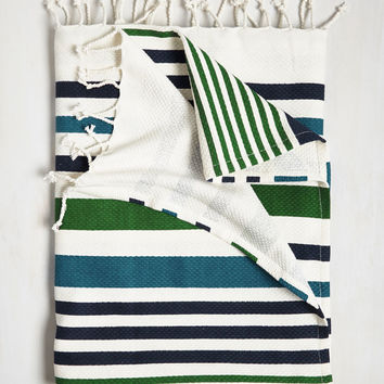 Sharing Fresh Air Beach Blanket | Mod Retro Vintage Decor Accessories | ModCloth.com