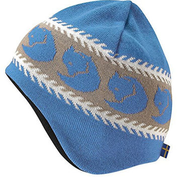 Fjallraven Kids' Knitted Hat UN Blue One Size