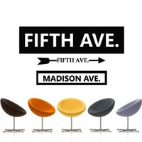 Wall Decal Decor Decals Sticker Art Vnyl Design Fifth Avenue Five Street New York Shop Attraction Fashion Inscription Bedroom Modern (M1311)