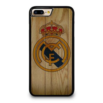 REAL MADRID FC WOODEN iPhone 7 Plus Case Cover