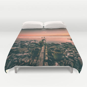 Guidance Duvet Cover by HappyMelvin
