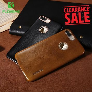 FLOVEME Leather Case For iPhones Luxury Mobile Phone Cases Accessories