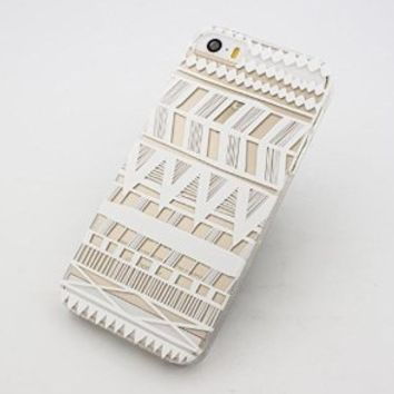 "6 Case, iPhone 6 Case -LUOLNH Henna Itzli Mayan Aztec tribal native american indian ethnic Clear Pattern Premium ULTRA SLIM Hard Cover for iPhone 6 (4.7)+ ""LUOLNH"" Stuff"