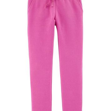 Pull-On Fleece-Lined Pants