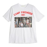 CAMP Picture Print T-Shirt (Ivory)   STYLENANDA
