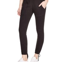 PAM & GELA Ankle Lace Up Sweatpants | Bloomingdales's
