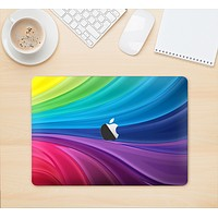 """The Neon Colored Swirled Skin Kit for the 12"""" Apple MacBook"""