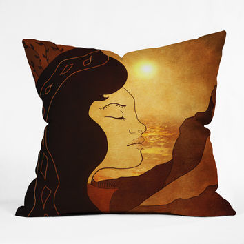 Viviana Gonzalez Song of December Throw Pillow