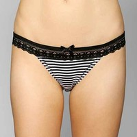 Laced With Daisies Bikini- Black & White