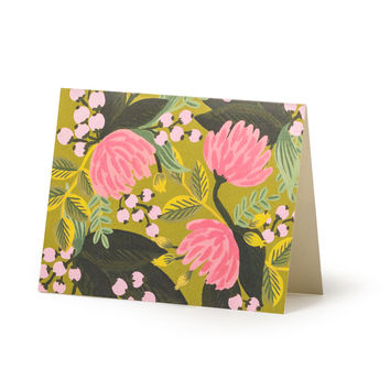 Saigon Blooms Card