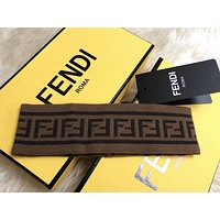 Fendi New fashion letter couple sports leisure headband
