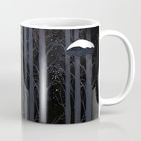 Snow Owls Mug by Danse de Lune
