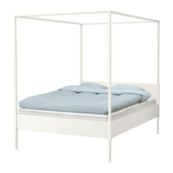EDLAND Four-poster bed frame - Queen - IKEA