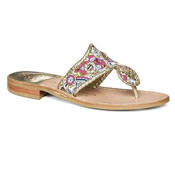 Dania Sandal in Platinum by Jack Rogers