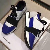 BALENCIAGA Fashionable Women Men Casual Sneakers Shoes