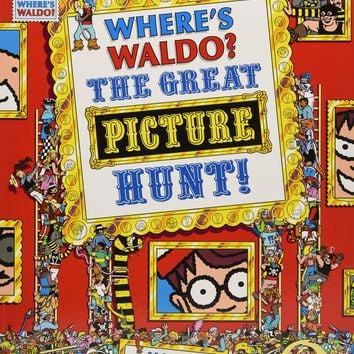 Where's Waldo? The Great Picture Hunt! Where's Waldo 1 Reprint