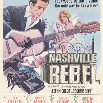 Nashville Rebel 11x17 Movie Poster (1966)