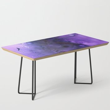 Sahasrara (crown chakra) Coffee Table by duckyb
