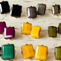 Fall Toned Stud Earrings – 7 Colors!