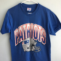 vintage NFL new england patriots t shirt / medium