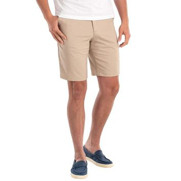 "Mulligan ""Prep-Formance"" Shorts in Light Khaki by Johnnie-O"