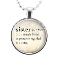 Sister Necklaces, Jewelry Gift Ideas For Sister, Family Gifts