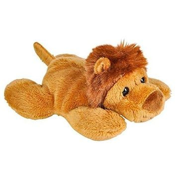 Wildlife Tree 3.5 Inch African Lion Mini Small Stuffed Animals Bulk Bundle of Zoo Animal Toys or Jungle Safari Party Favors for Kids Pack of 12