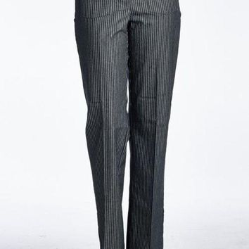 DCCKM83 Women's Pinstripe Career pants